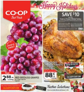 Co-op Flyer December 18, 2015 – January 1, 2016. Happy Holidays!