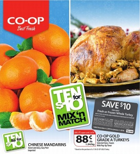 Co-op Flyer. Co-op Gold Grade A Turkeys