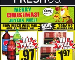 Freshco Flyer December 17 – 24, 2015. Merry Christmas!