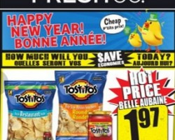 Freshco Flyer December 24 – 31, 2015. Happy New Year!