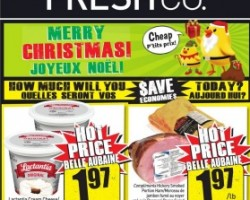 Freshco Flyer December 10 – 16, 2015. Maxwell House Tassimo