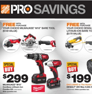 Home Depot Weekly Flyer December 23 – 29, 2015. Pro Boxing Week Savings