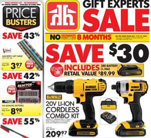 Home Hardware Flyer. 20V Li-Ion Cordless Combo Kit