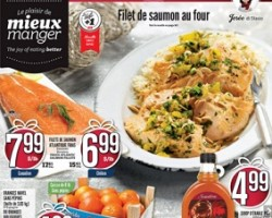 IGA Flyer. Boneless Fresh Atlantic Salmon Fillets