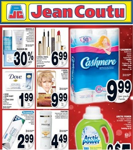 Jean Coutu Flyer. Cashmere Bathroom Tissue