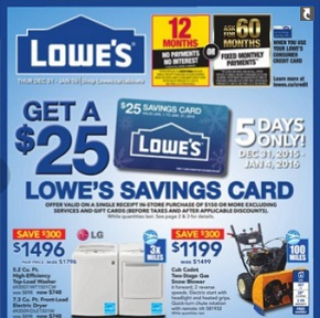 Lowes Flyer. Cub Cadet Two-Stage Gas Snow Blower