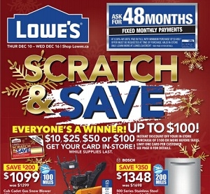 Lowes Flyer