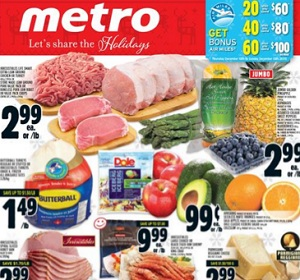 Metro Flyer. Irresistibles Life Smart Extra Lean Ground Chicken or Turkey