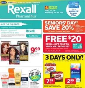 Rexall Flyer 12/18-12/24/2015