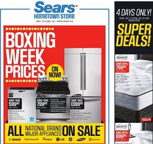 Sears Boxing Week 2015 Sales Flyer