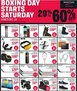 Sport Chek Boxing Day 2015 Sales Flyer 12/19-12/28/2015