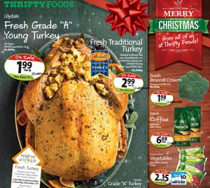 Thrifty Foods Flyer December 16 – 24, 2015. Merry Christmas!