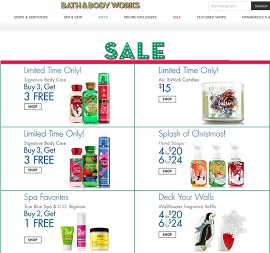 Bath & Body Works Flyer Specials
