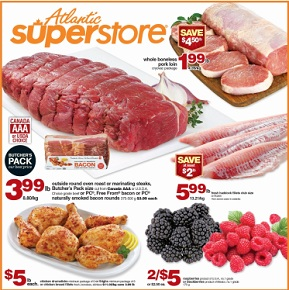 Atlantic Superstore Flyer. Whole Boneless Pork Loin