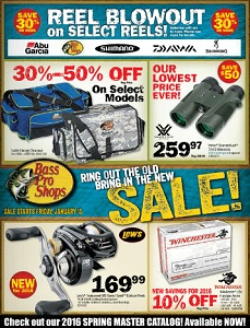 Bass Pro Shops Flyer. Sale!