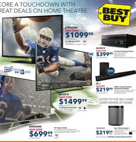 Best Buy Flyer. Samsung 60″ 1080p Smart TV – Black