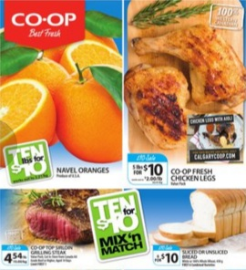 Co-op Flyer. Co-op Fresh Chicken Legs
