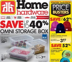 Home Hardware Flyer. Acrylic Knitted Toques