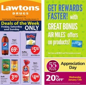 Lawtons Flyer. Ruffles Potato Chips