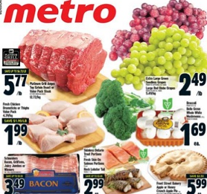 Metro Flyer. Platinum Grill Angus Top Sirloin Roast or Value Pack Steak