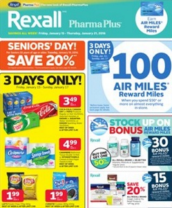 Rexall Flyer. Cashmere Bathroom Tissue