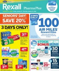 Rexall Flyer