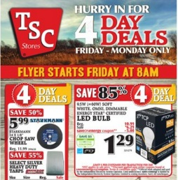TSC Stores Flyer, Weekly Specials, Sales
