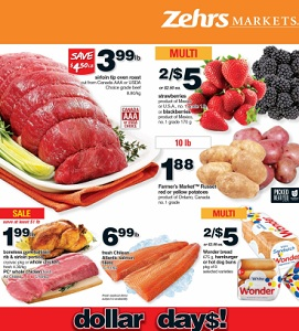 Zehrs Weekly Flyer January 8 – 14, 2016. Sirloin Tip Oven Roast