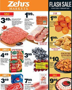 Zehrs Weekly Flyer February 5 – 11, 2016. Whole Boneless Pork Loin