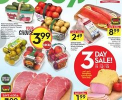 Sobeys Flyer August 11 – August 17, 2017