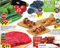 Sobeys Flyer August 18 – August 24, 2017