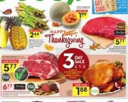 Sobeys Flyer October 6 – October 12, 2017