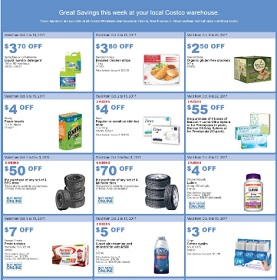 Costco Flyer 10/9-10/15/2017