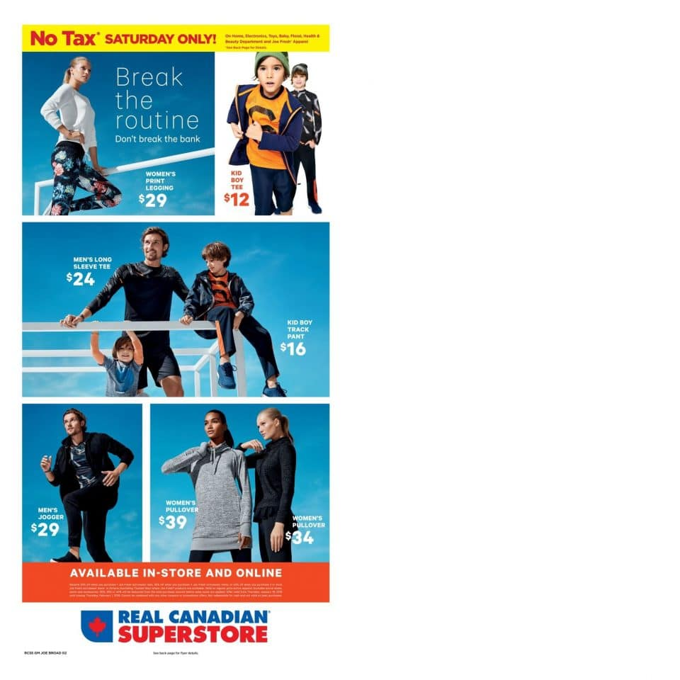 Superstore Flyer January 18 - January 24, 2018