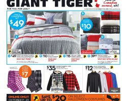 Giant Tiger Flyer October 17 – October 23, 2018