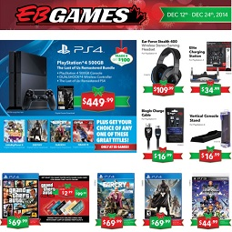 EB Games Boxing Day 2014