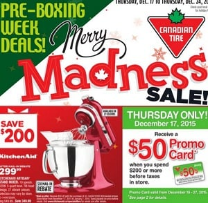 Canadian Tire Flyer 12/17-12/24/2015