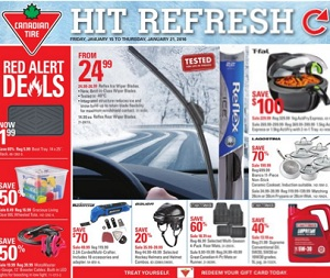 Canadian Tire Flyer 1/15-1/21/2016