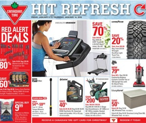 Canadian Tire Flyer 1/8-1/14/2016