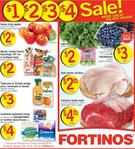 Fortinos Weekly Flyer 1/8-1/14/2016