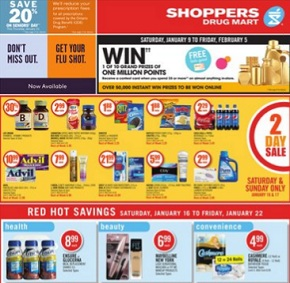 Shoppers Drug Mart Flyer