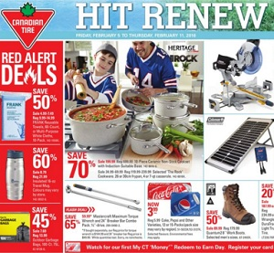 Canadian Tire Flyer 2/5-2/11/2016